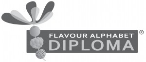 Flavour Alphabet 18 cm, B&W,  jpg